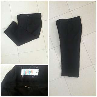 Black slacks for your boys