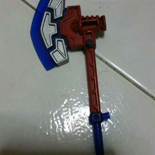 Optimus Prime axe