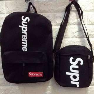 Supreme bags 2pcs set