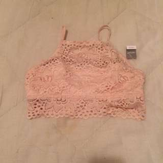 Aerie high neck bralette