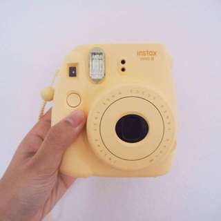 FUJIFILM Yellow Polaroid Camera