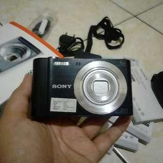 camera digital sony w810