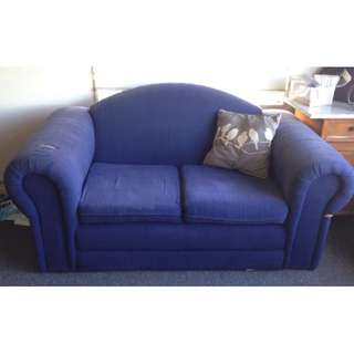 Preloved Blue couch