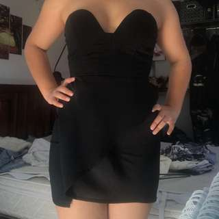 Lippy clubbing dress