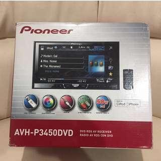 Tape Pioneer AVH-P3450DVD Second Mulus 90%