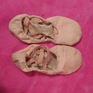 Sansha split sole ballet shoes