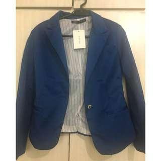 Yixuan--Zara women blue blazer from Korea