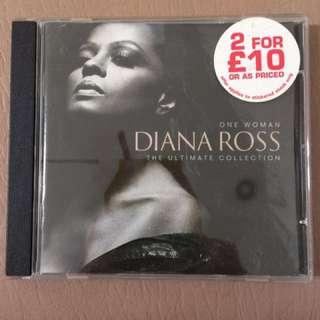 CD One Woman - Diana Ross The Ultimate Collection