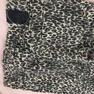 Federation Leopard Jeans - Size 6