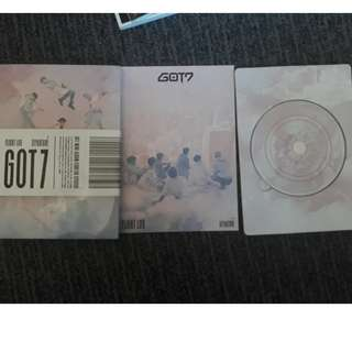 GOT7 Flight Log Arrival Pink/Rose Quartz version