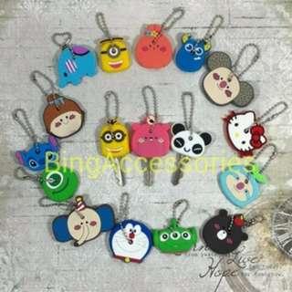 Key Cover / sarung kunci ( gantungan kunci bumper case cord protector )