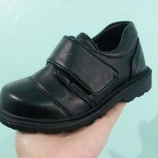 Tough Kids Black Shoes