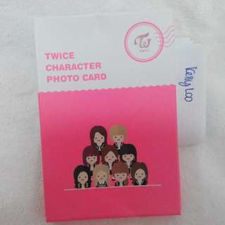 [READY STOCK]Twice Character Pop Up Store Photocard Set