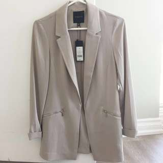 Dynamite XS Light Gray blazer/jacket new with tags