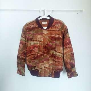 Artsy Bomber Jacket