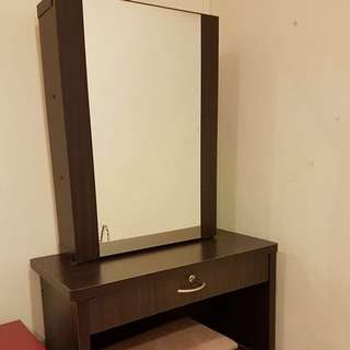 Dressing Table with hidden compartments & Stool
