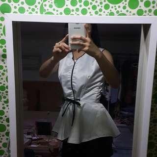 Nucollective Blouse / Kimono / Baju Kerja / Atasan / Baju Jepang / Baju Korea