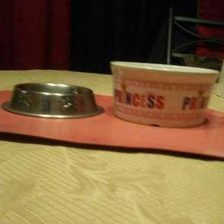 dog bowl set