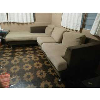 L Shape Sofa / Couch (URGENT)