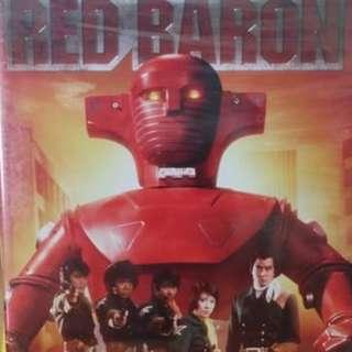 美版 懷舊 70s Red Baron 鐵金剛 DVD 全39集 英文字幕
