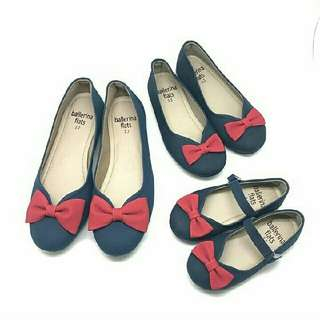 Bluebell Red Flatshoes