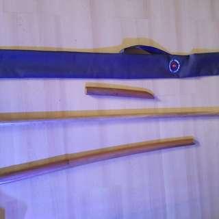 Aikido weapon set (children)