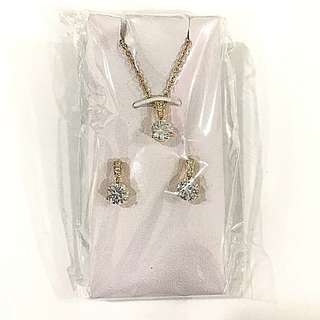 Ladies Sekonda Necklace and Earring set