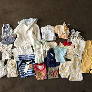 Baby clothes assorted 20 pieces