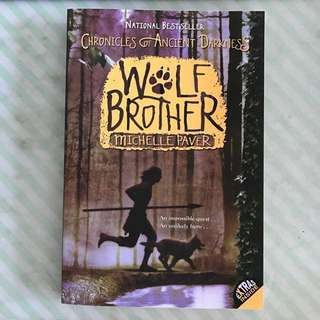 SALE❗️Wolf Brother by Michelle Paver