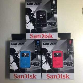 Sansa Clip Jam MP3 Player 8gb