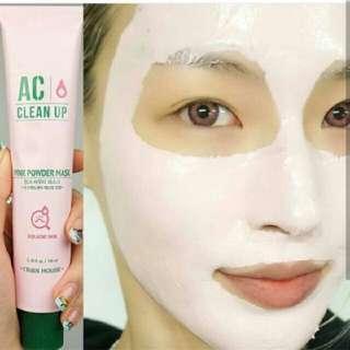 Free Ongkir!! AC Clean Up Pink Powder Mask 100ml