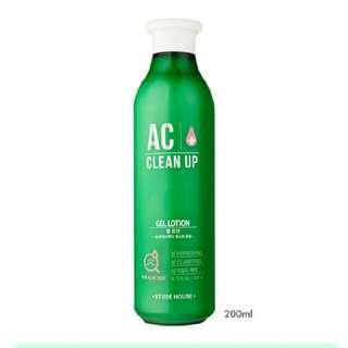 Free Ongkir Gel Lotion AC Clean Up 200ml