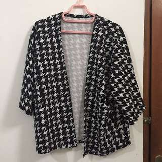 Houndstooth Outerwear