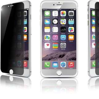Instock Free Postage iPhone 6 7 8 Plus Privacy Tempered Glass