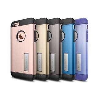 🚚 SPIGEN Slim Armor iPhone 5/6/6 plus TPU Cover Casing
