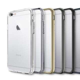 🚚 SPIGEN Ultra Hybrid iPhone 5 6 6 Plus TPU Cover Case