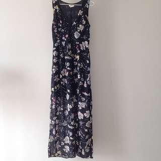 H&M Conscious Long Floral Dress