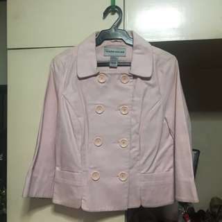 Pink Warehouse Double Breasted Jacket