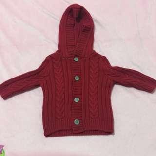 Gymboree Red Cardigan Jacket