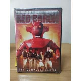 美版 懷舊 70s Red Baron 鐵金剛 DVD 全39集 英文字幕   (只限堅尼地城地鐵站交收)