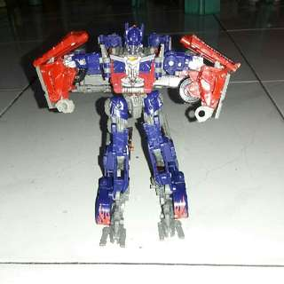 Transformations Robot Car Action Figures Toys Optimus Prime Model Class Boys Birthday Gift