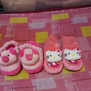 prelove shoes pitterpat and bed slippers !!!