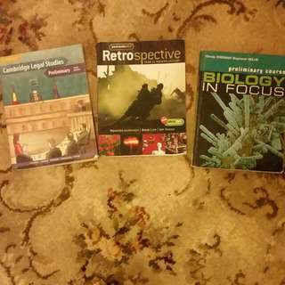 CHEAP PRELIMINARY TEXTBOOKS [EXCELLENT CONDITION]