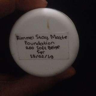 Rimmel+faceshop share in jar