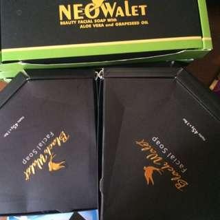 Sabun black wallet
