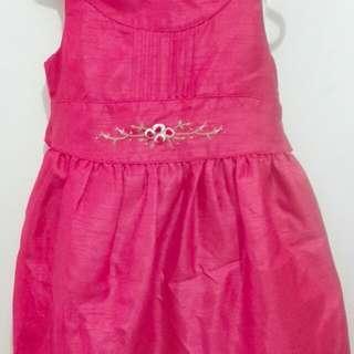 Red Sleeveless Formal Dress