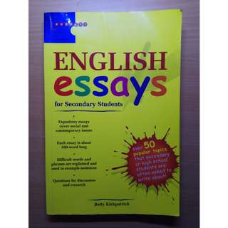 Guide Book - English Essays for Secondary Students