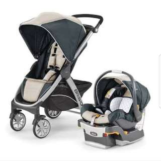 Chicco Bravo Stroller and Car Seat