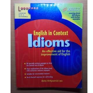 Idioms English Guide Book