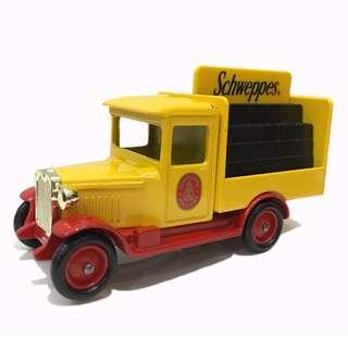 🚚 【英國製】復古老車款模型 Schweppes舒味思